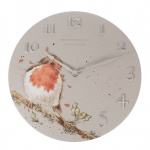 Wrendale Designs Wall Clock Robin Design