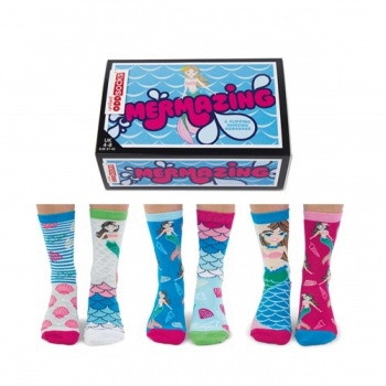 United Oddsocks Mermazing Ladies Novelty Oddsocks