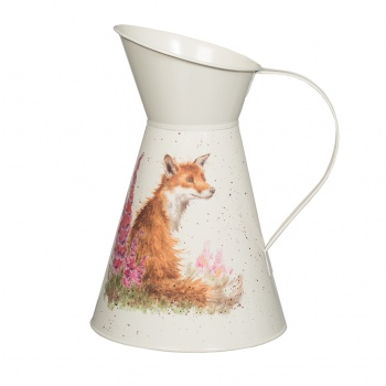 Wrendale Designs Fox Illustrated Flower Jug
